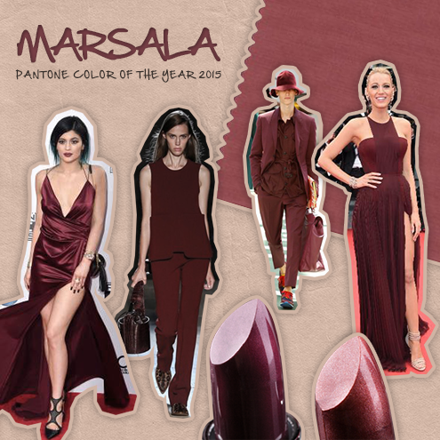 Pantone Marsala color of the year 2015